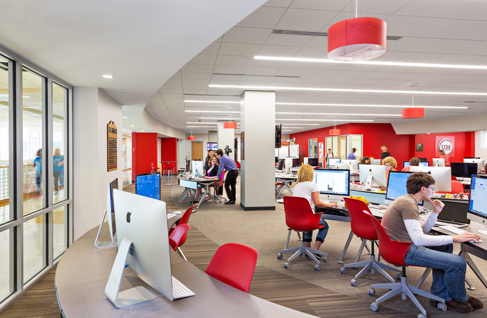 Unified Media Lab, Ball State University, Muncie, Indiana